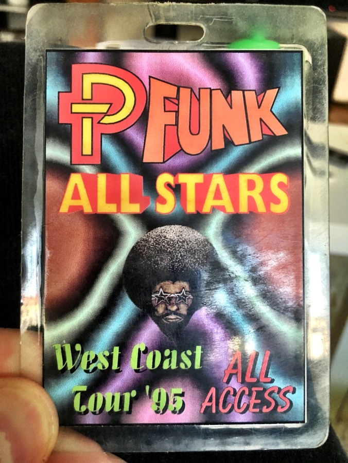 George Clinton & P-funk - All access pass (1995)